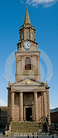 Berwick old town hall