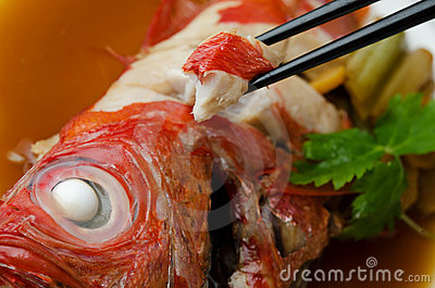 Beryx In Soy Sauce Royalty Free Stock Images - Image: 23123489