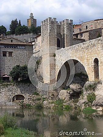 Besalu, Girona ( Spain )