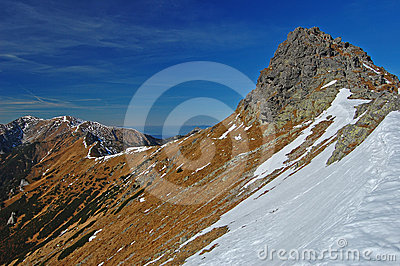 Beskid peak in Tatra Mountains