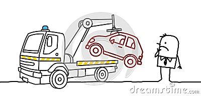 Beslagtagen bil