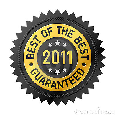 Best Of The Best 2011 label