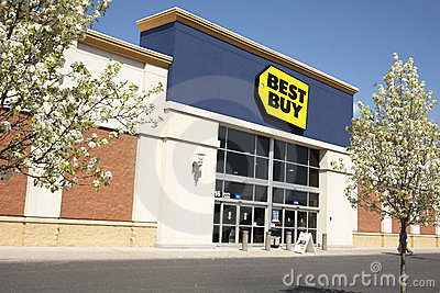 Best Buy Editorial Stock Photo