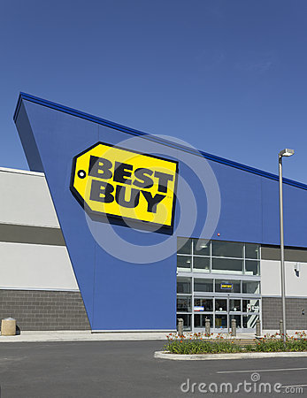 Best Buy Editorial Stock Image