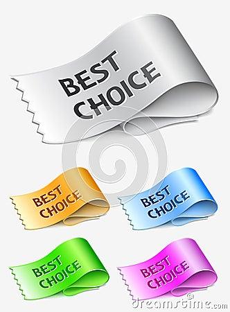Best choice labels