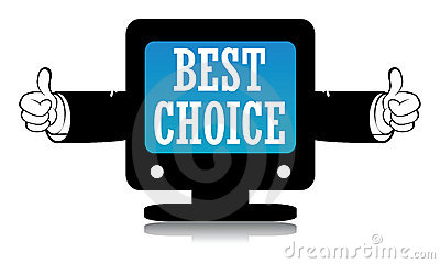 Best Choice Sign Royalty Free Stock Images - Image: 12979779