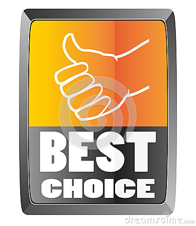 Best choice sign