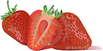 Best custom vector online Sweet strawberry