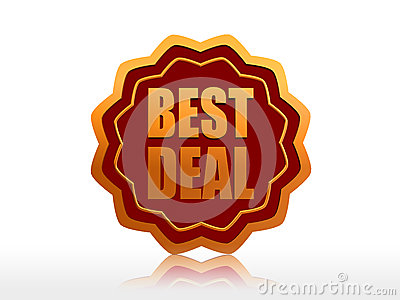 Best deal starlike label