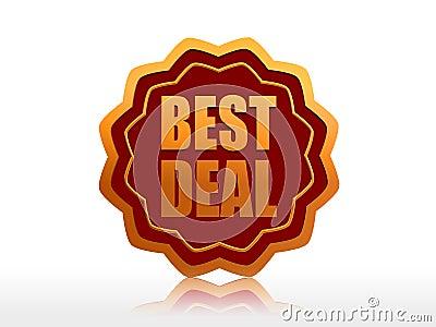 Best deal starlike label