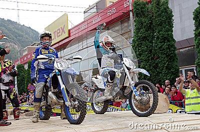 Best enduro riders Editorial Photo