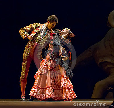 The Best Flamenco Dance Drama  Editorial Photography