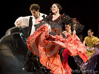 The Best Flamenco Dance Drama  Editorial Image