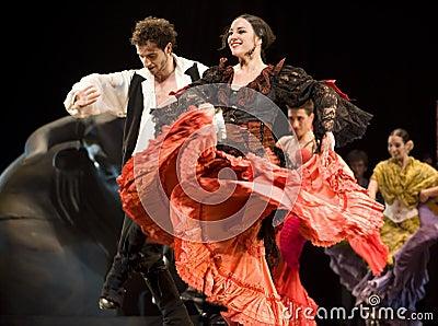 The Best Flamenco Dance Drama Editorial Image