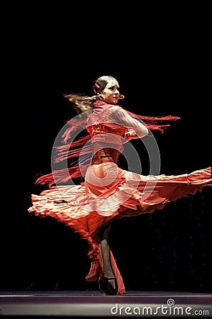 The Best Flamenco Dance Drama : Carmen Editorial Stock Image