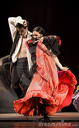 The Best Flamenco Dance Drama : Carmen Editorial Stock Photo