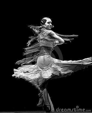 The best Flamenco Dance Drama : Carmen Editorial Photo