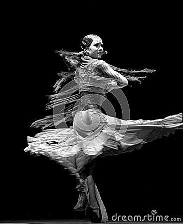 The best Flamenco Dance Drama : Carmen Editorial Photo