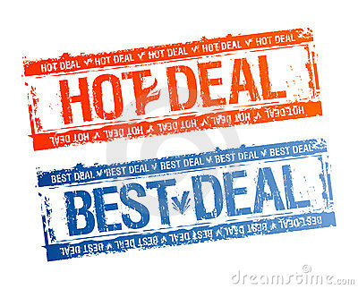 Best hot deal stamps.