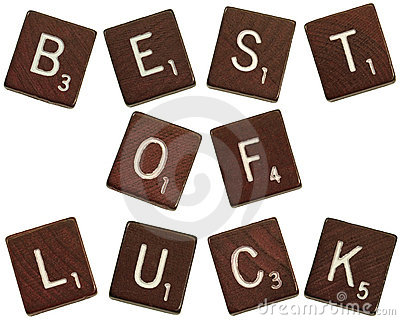 Best of luck tiles