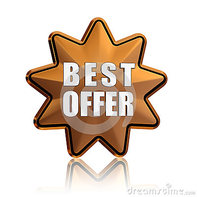 Best offer in golden star
