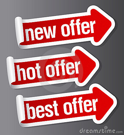 Best offer stickers.