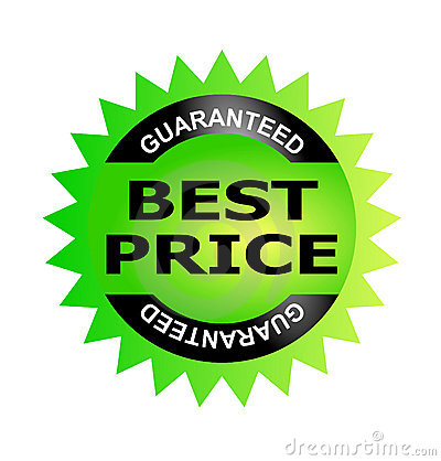 Best Price Guarantee Seal Stock Image - Image: 3643821