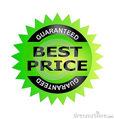 Best price guarantee seal