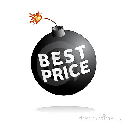 Best price vector icon