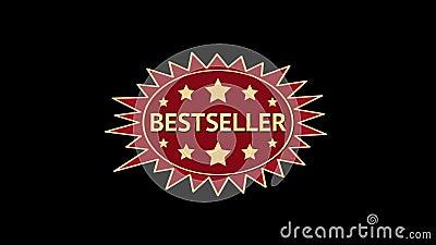 best-seller Geanimeerde ovale zonmarkering royalty-vrije illustratie