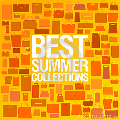 Best summer collections design template.