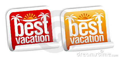 Best vacation labels.