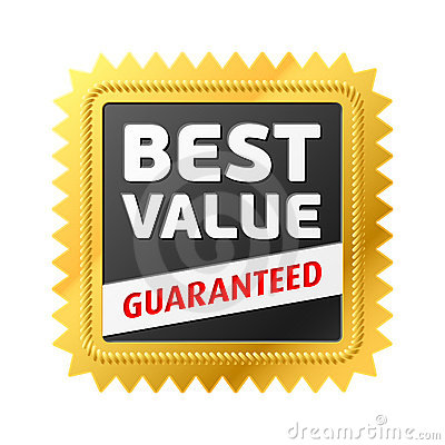 Free Best Value Label Stock Image - 12806151