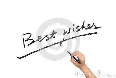 Best Wishes Photo Image 54974989 – Words of Best Wishes