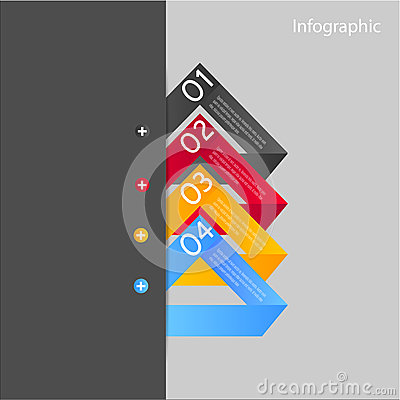Beståndsdelar för Infographic banerdesign