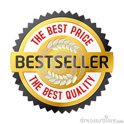 Free Bestseller Emblem Royalty Free Stock Images - 8247229