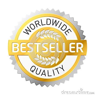 Bestseller Label Stock Image - Image: 7917271