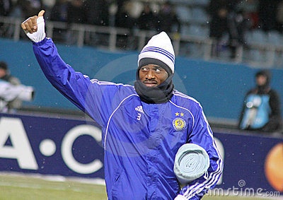 Betao of Dynamo Kyiv Editorial Photography