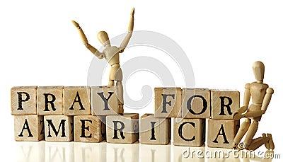 Beten Sie für Amerika