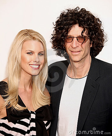 Beth Ostrosky and Howard Stern Editorial Image