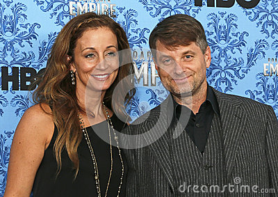 Beth Whigham and Shea Whigham Editorial Stock Photo