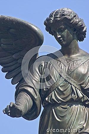 Bethesda Fountain closeup