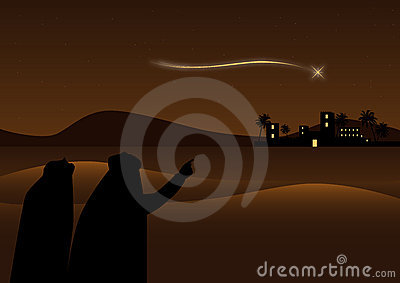 Bethlehem background Vector Illustration