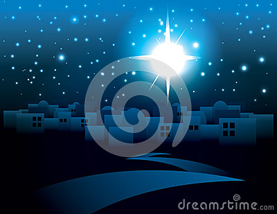 Bethlehem Christmas Star Illustration Vector Illustration