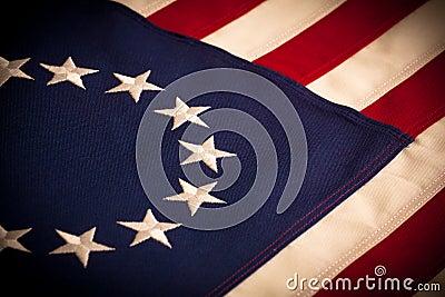 Betsy Ross - 13 star American Flag