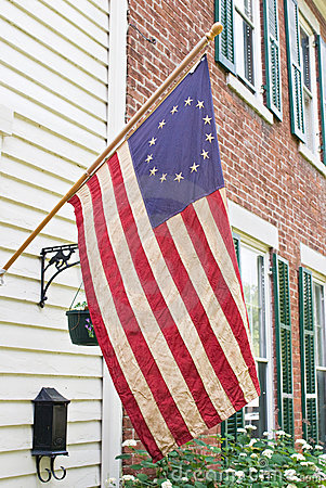 Betsy Ross Flag, Antique