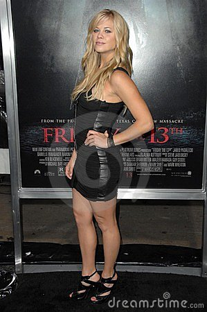 Betsy Rue at the Los Angeles Premiere of  Friday the 13th . Grauman s Chinese Theatre, Hollywood, CA. 02-09-09 Editorial Image