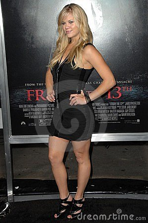 Betsy Rue at the Los Angeles Premiere of  Friday the 13th . Grauman s Chinese Theatre, Hollywood, CA. 02-09-09 Editorial Photography