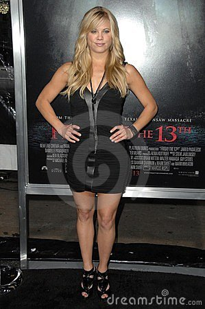 Betsy Rue at the Los Angeles Premiere of  Friday the 13th . Grauman s Chinese Theatre, Hollywood, CA. 02-09-09 Editorial Stock Image