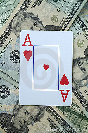 Betting on Ace of hearts